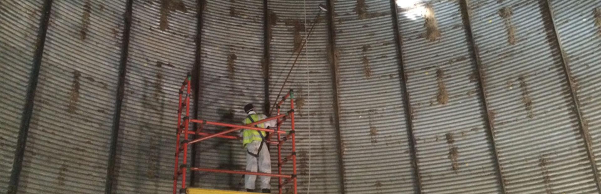 silo temizliği, silo temizleme, silo temizliği nasıl yapılır, sonic silo temizleme, çelik silo temizliği, silo boşaltma sistemi, silo tank temizliği